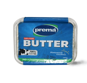 Prema Butter Unsalted 190g - TAYYIB - At-Tahur - Lahore