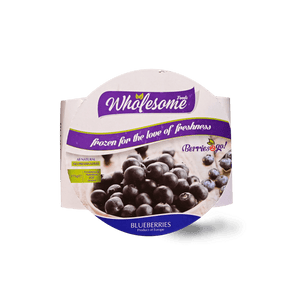 Wholesome Blueberries (frozen) 175g - TAYYIB - Wholesome Foods - Lahore