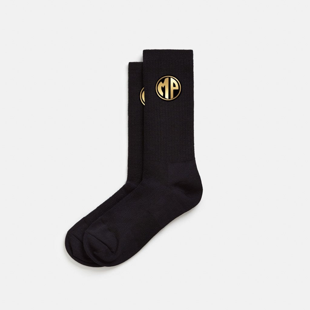 "Black (Passion Project) ""MP"" Unisex Socks"