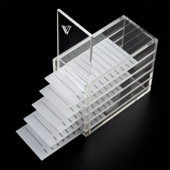 5 Layers Acrylic Eyelash Storage Box