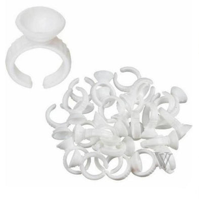 100pcs/bag Small Glue Ring