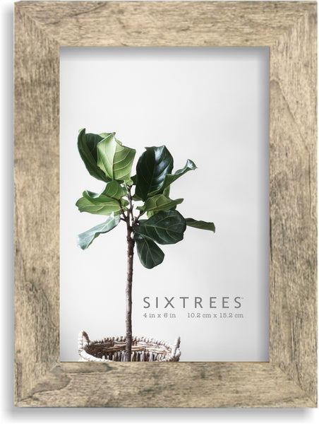 4 X 6 Gray & White Picture Frame Lawrence
