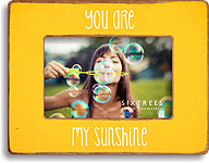 4 X 6 Yellow Picture Frame You Are My Sunshine