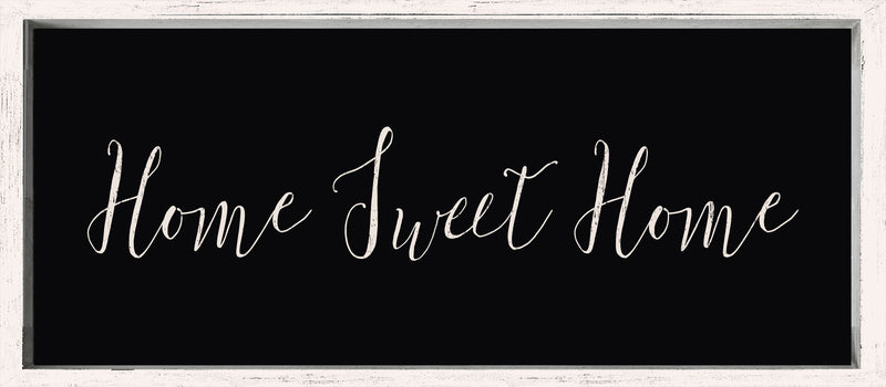 7 X 16 Box Sign Home Sweet Home