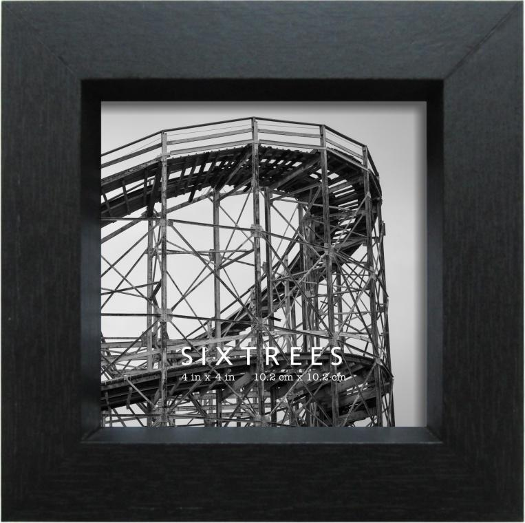 4 X 4 Black Picture Frame Ethan