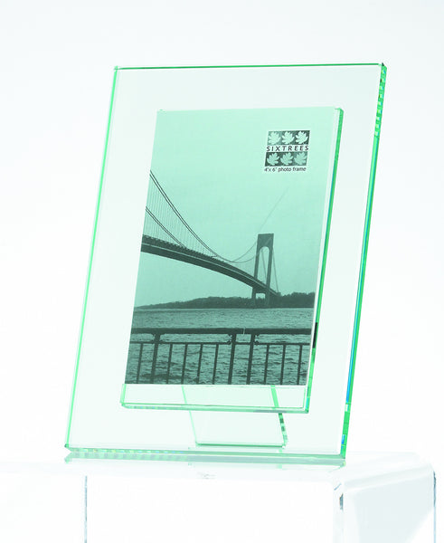 Moda Glass 'Floating Effect' Clear Picture Frame