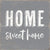 Home Sweet Home - 6X6 Box Sign