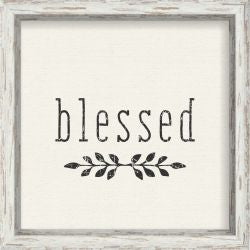 Blessed - 10X10 Box Sign