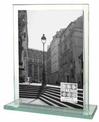 Deco Glass Vertical Picture Frame