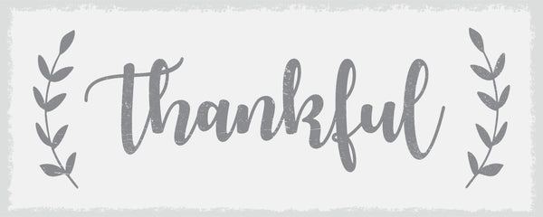 Thankful - 4X10 Box Sign