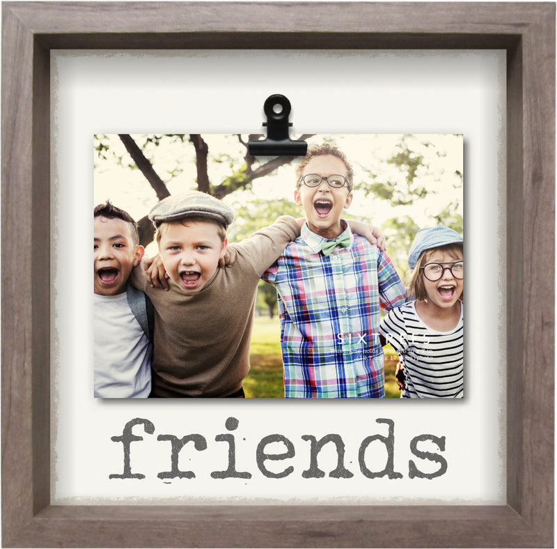 Friends Clip Frame - 10X10 Frame, For 5X7 Photo