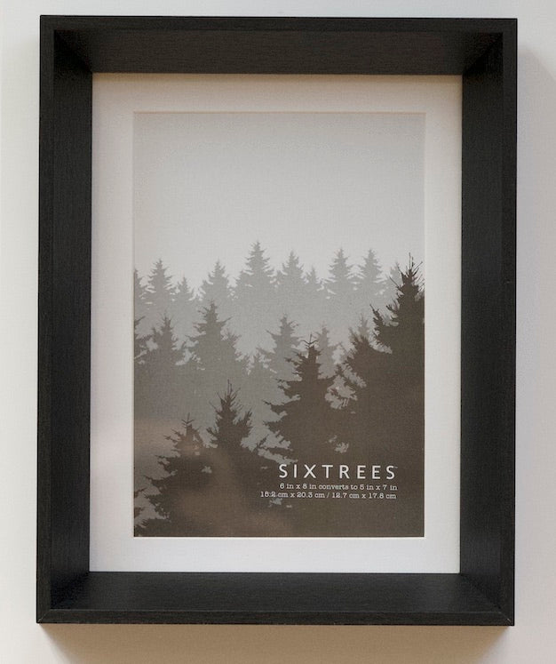 Stark 6X8 and 5X7 Deep Matted Picture Frames