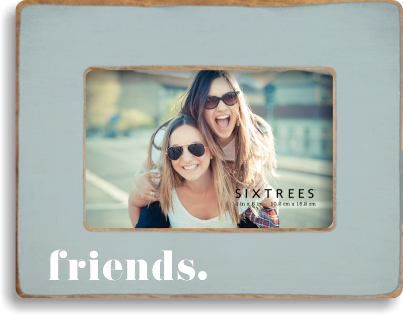 Friends 2 Wood Picture Frame