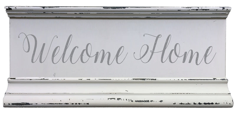 6 X 12 Box Sign Welcome Home