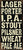 5 X 11 Box Sign Larger Porter I.P.A Stout Pilsner Wheat Pale Ale