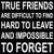 12 X 12 Box Sign True Friends Are Difficult To Find Hard To Leave And Impossible To Forget