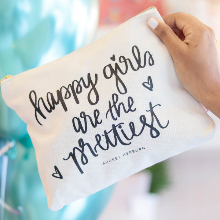 "Bolso de maquillaje ""Happy Girls"" - Obxequio"