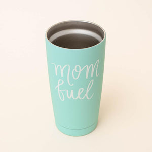 "VASO DE VIAJE METALICO ""MOM FUEL"" (SKU: TM017) - Obxequio"