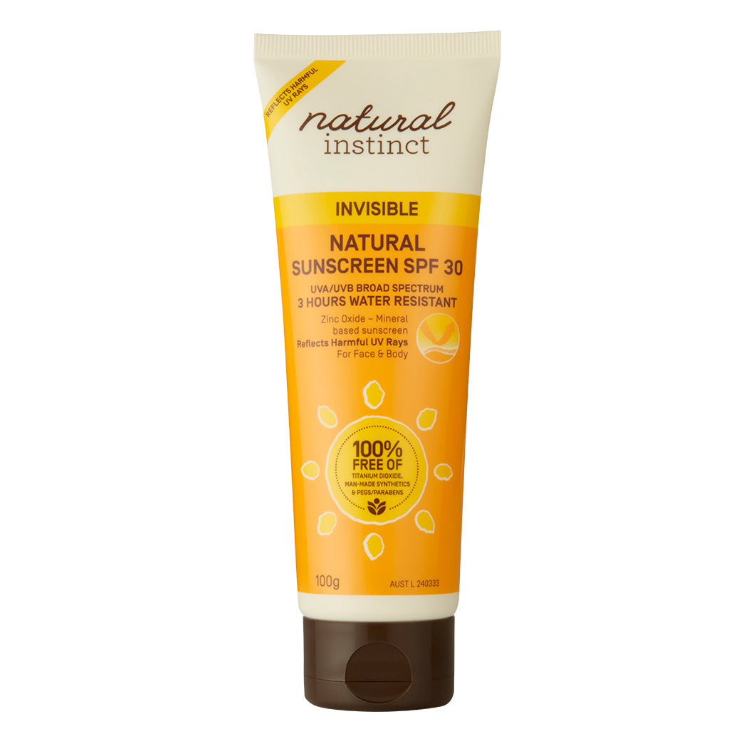 Natural Instinct Invisible Sunscreen 100g (SPF 30)