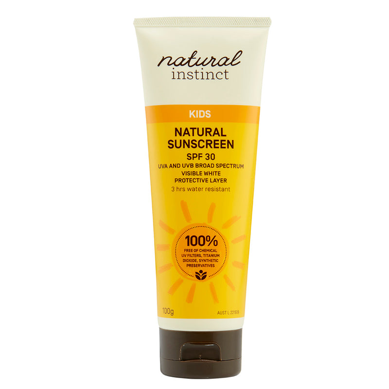 Natural Instinct Kids Natural Sunscreen 100g