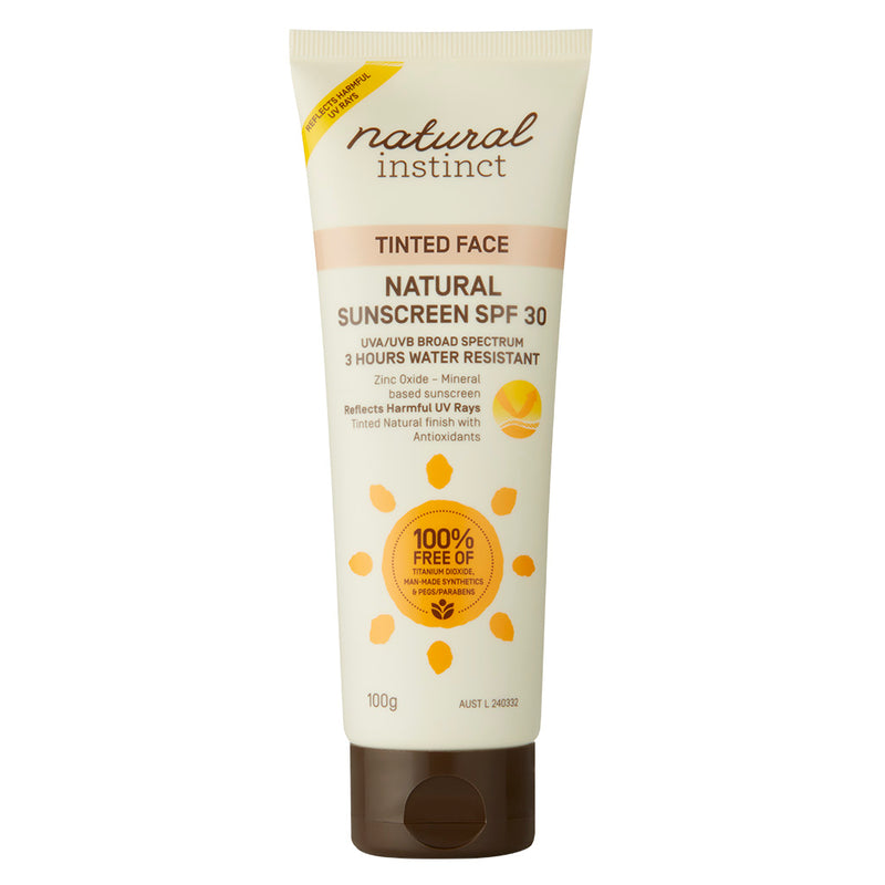 Natural Instinct Tinted Face Natural Sunscreen 100g