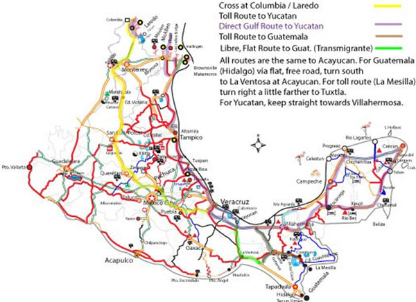 "Guatemala Routes - ""Mexico"" Mike Maps & Trip Planning"
