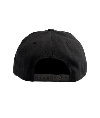 Montra Snapback Hat Black - Patch