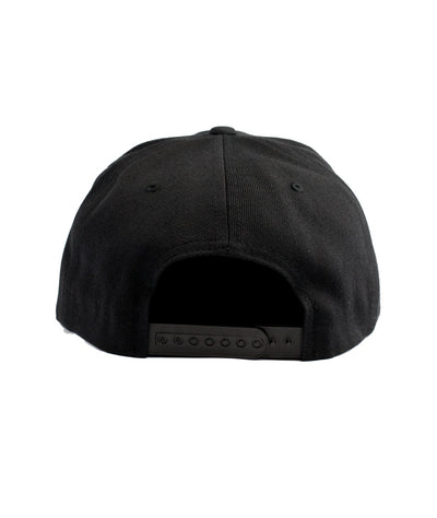 Montra Snapback Hat Black - Bracket