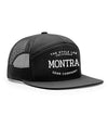 Montra Snapback Trucker Hat Black - Style Lab