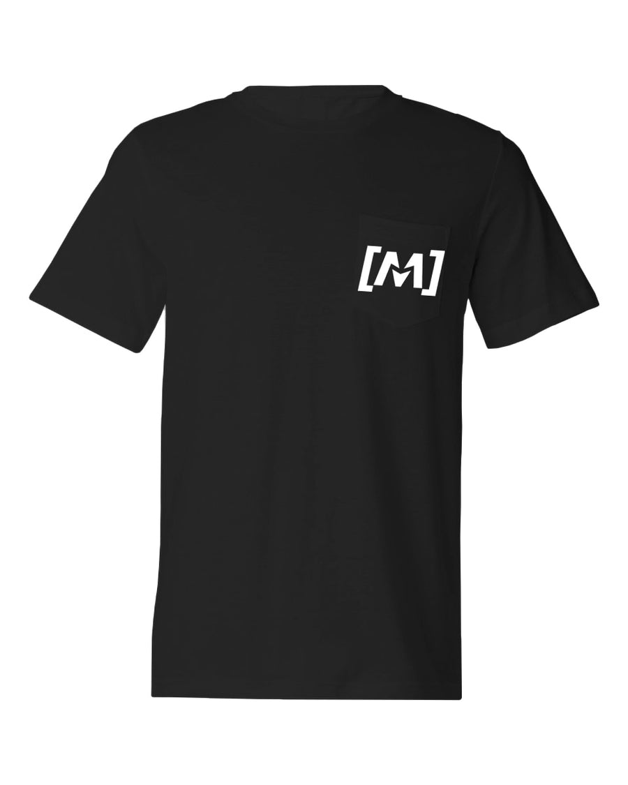 Montra Pocket T Shirt Black