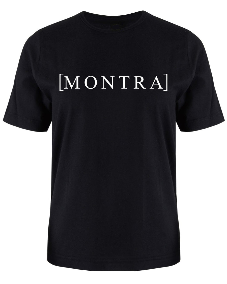Montra Bracket T Shirt Black