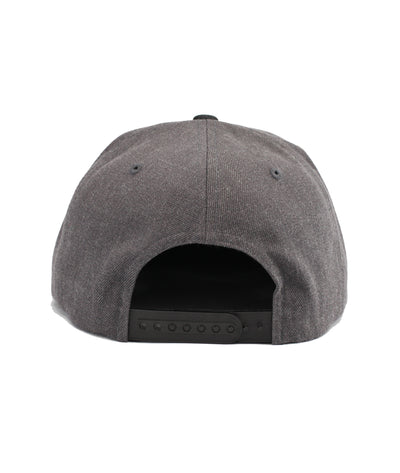 Montra Snapback Hat Black/Charcoal - Athletic Division