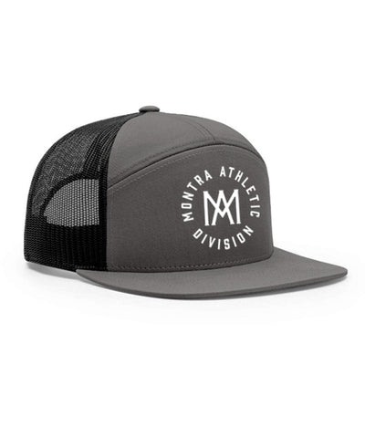 Montra Snapback Trucker Hat Grey - Athletic Division