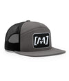 Montra Snapback Trucker Hat Grey - Patch