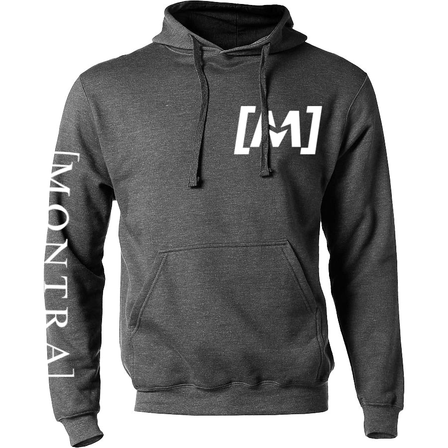 Montra Classic Hoodie Charcoal