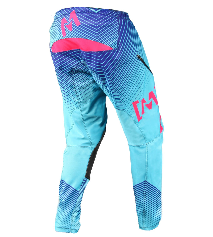 MX-2 Factory Pants Teal/Coral