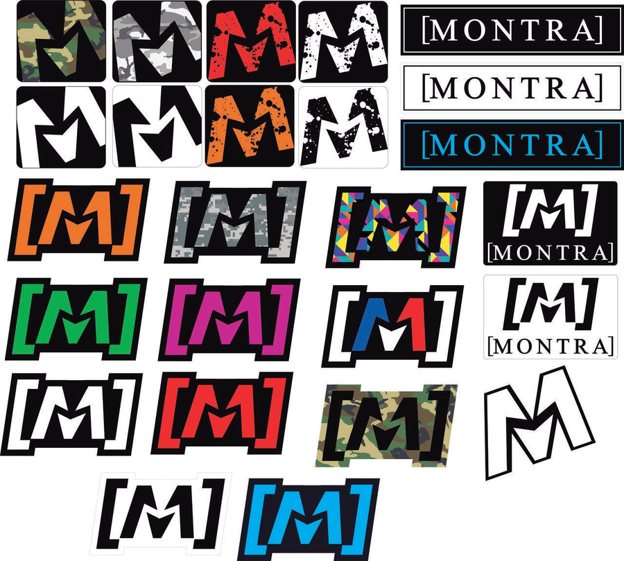 Montra Master Sticker Pack