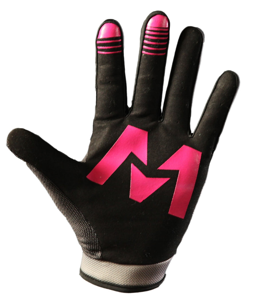 OZONE Gloves Black/Pink