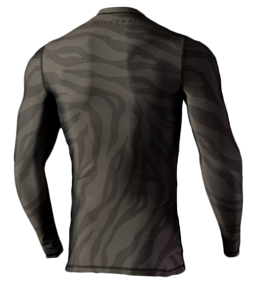 OZONE Compression Jersey Black