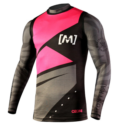 OZONE Over Jersey Black/Pink
