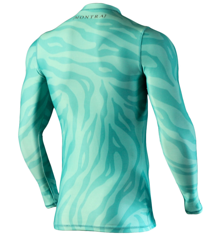 OZONE Compression Jersey Teal
