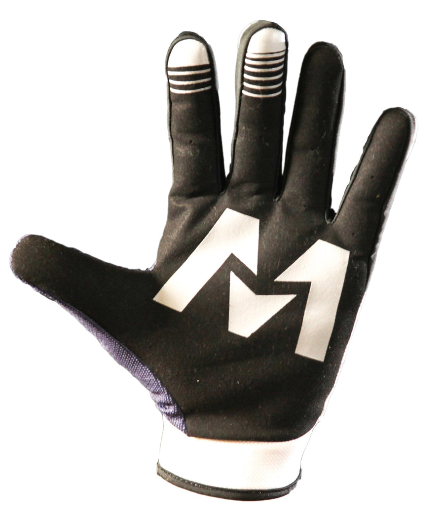 OZONE Gloves White/Blue