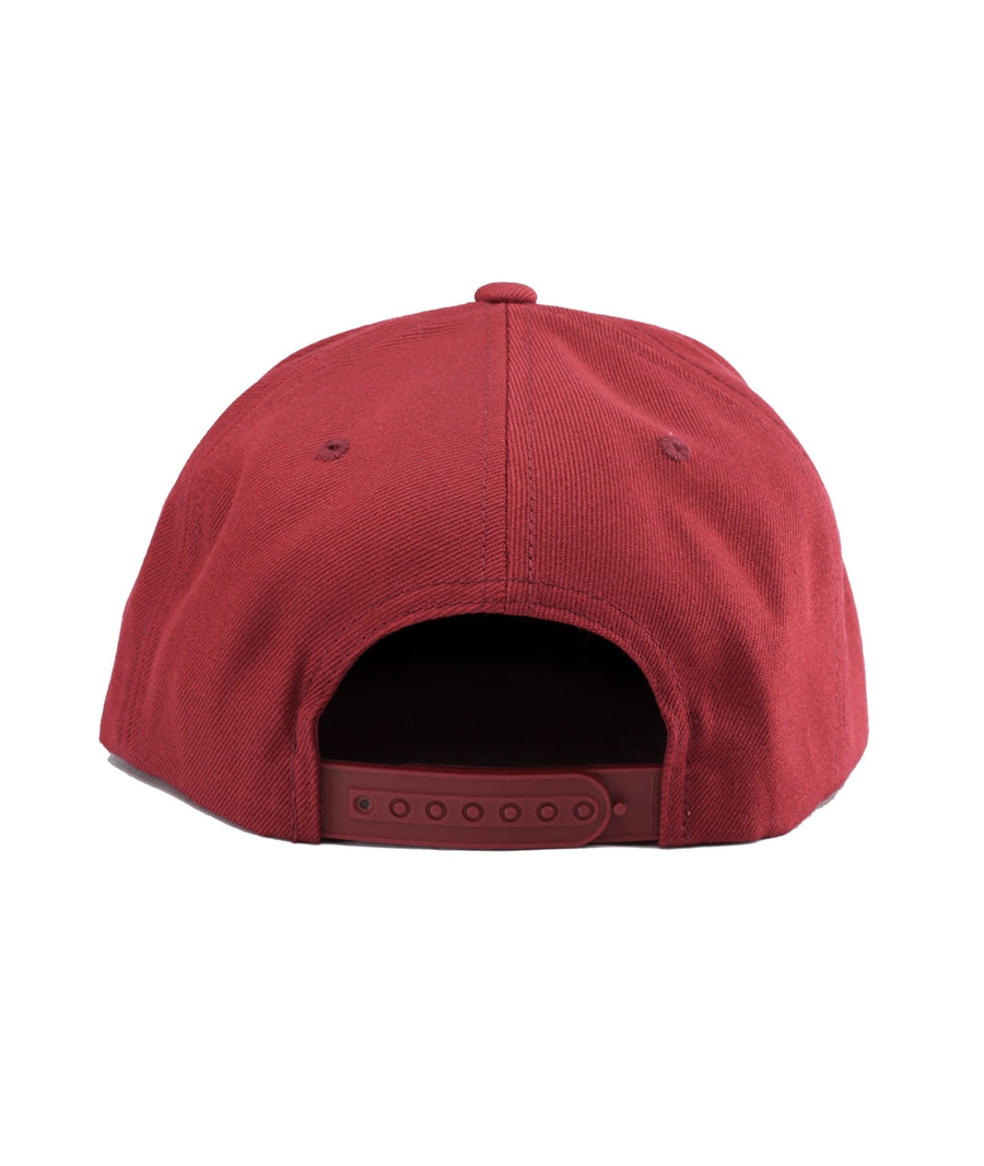 Montra Snapback Hat Red - Bracket
