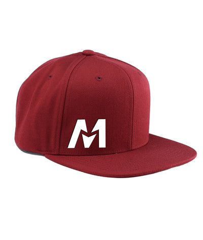 Montra Snapback Hat Red - Edge