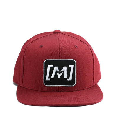 Montra Snapback Hat Red - Patch