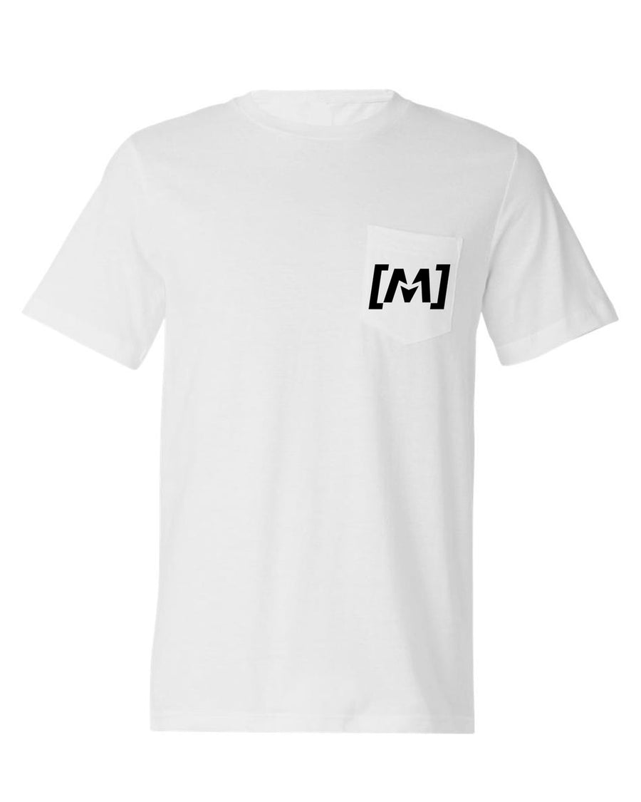 Montra Pocket T Shirt White