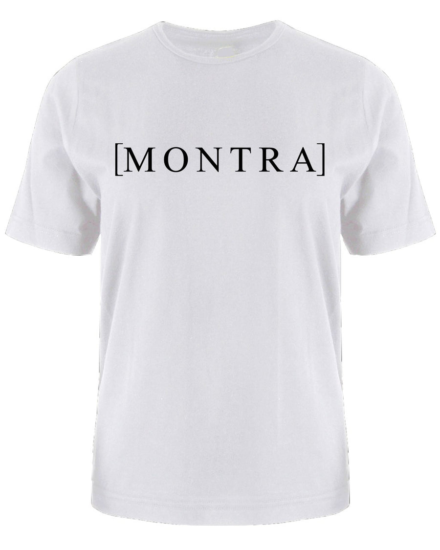 Montra Bracket T Shirt White