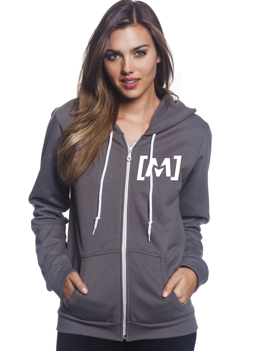 Montra Ladies Classic Hoodie Charcoal