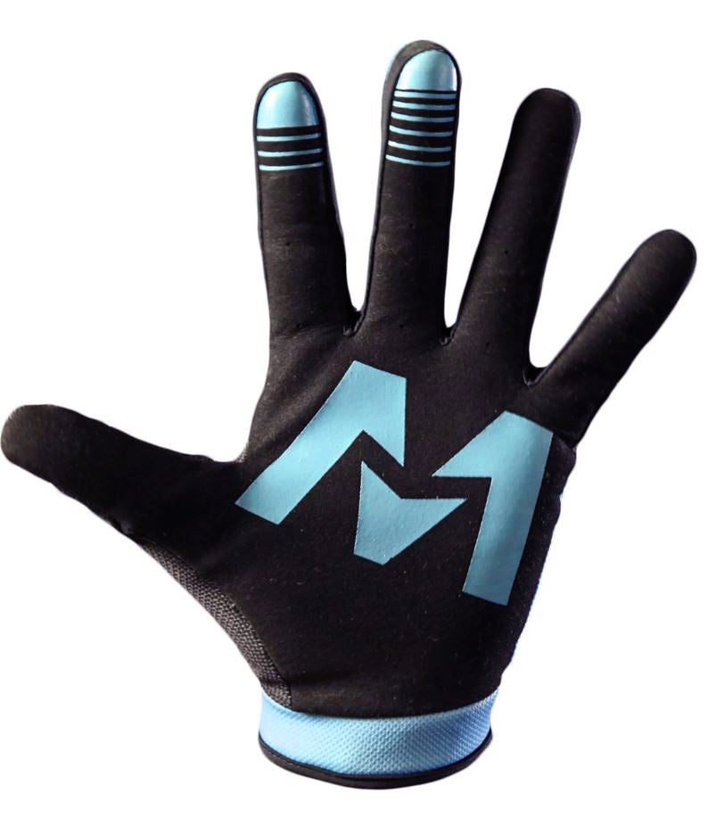 OZONE Gloves Aqua/Black