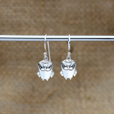 Origami Owl Silver Dangle Earrings - Lertvizutte